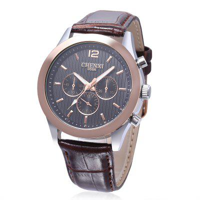 Buy BLACK CHENXI 059A Fashion Japan Movement Men Quartz Watch for $12.06 in GearBest store