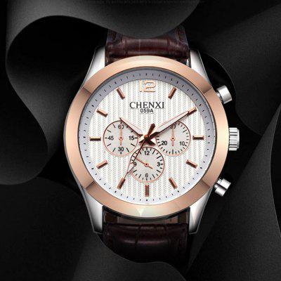 CHENXI 059A Fashion Japan Movement Men Quartz Watch