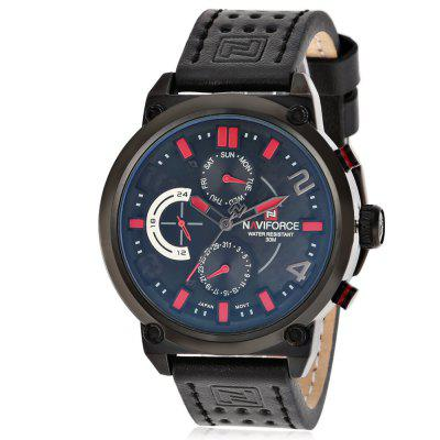 NAVIFORCE 9068L Business Men Quartz Watch