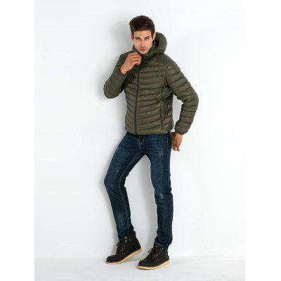 Ultralight Hooded Down Jacket for Men