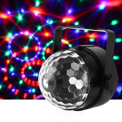 UKing ZQ - B9 6W RGB LED Stage Light Magic Effect Home Party Lighting