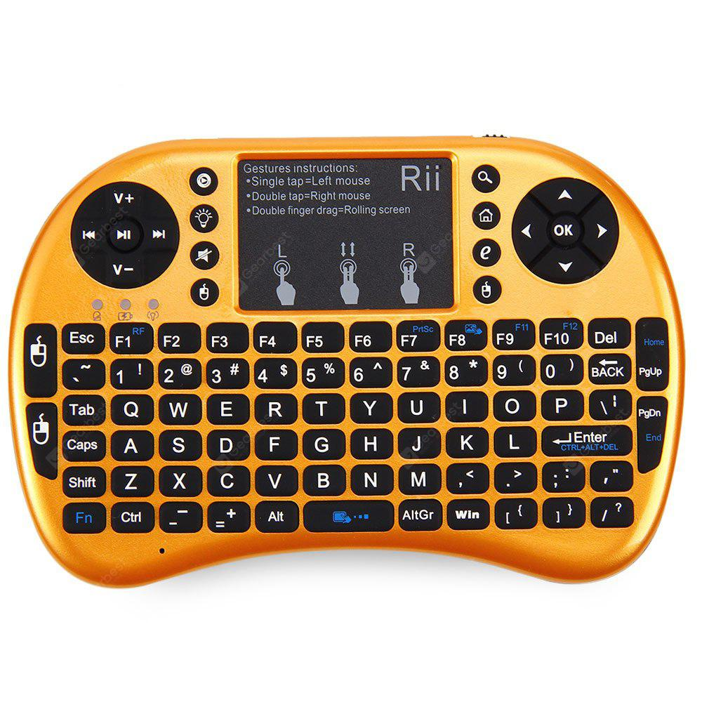 e115c4b6588 Rii i8+ Multi-function Mini 2.4GHz Wireless Touchpad Keyboard with ...