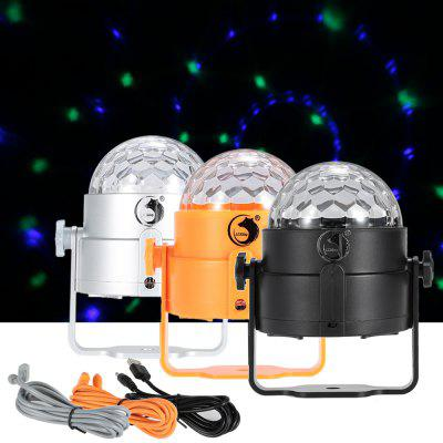 UKing ZQ - B17 6W USB Rechargeable LED Stage Light RGB Effectl Lighting