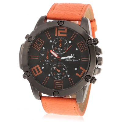 V6 Super Speed 2201 Fashion Men Quartz Watch