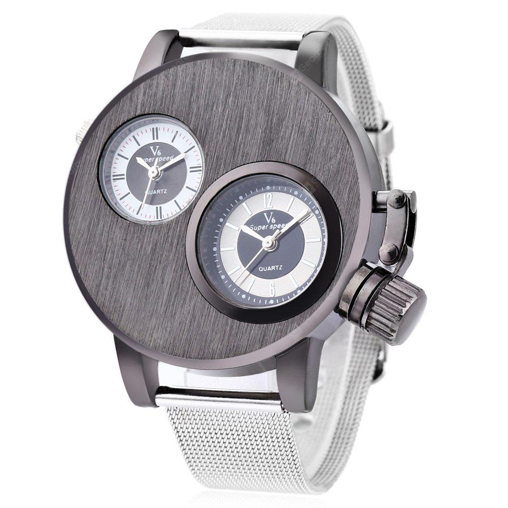 8373e32e0f0 V6 Super Speed V6010 Fashion Men Quartz Watch -  10.52 Free ...