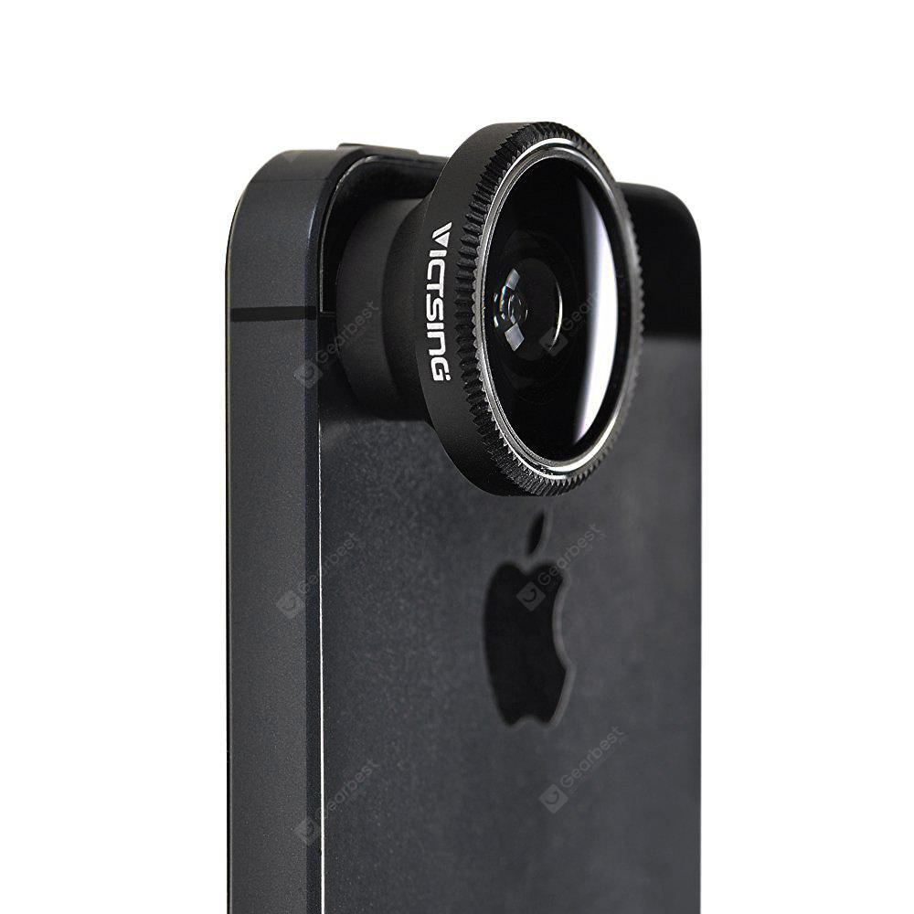 Universal Detachable Clip-on Phone Camera Lens Kit