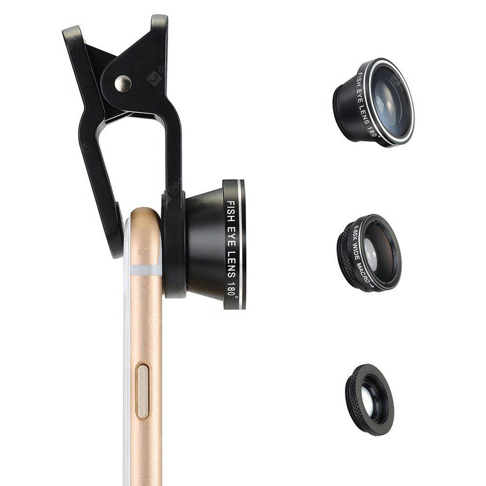 3 in 1 Clip-on Phone Camera Photography Kit