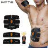 IMATE IM - 03 Muscle Training Gear Abs Fit Body Sculpting - BLACK AND ORANGE