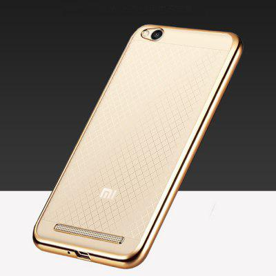 ASLING TPU Soft Protective Case for Xiaomi Redmi 3 Electroplated Frame