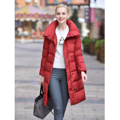 Women Long Down Jacket