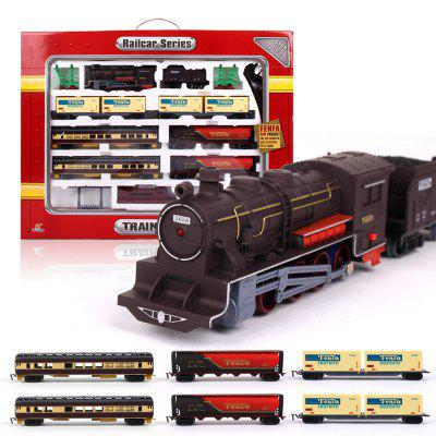 Fenfa 1:87 Scale Rail Car Series Electric Train Set