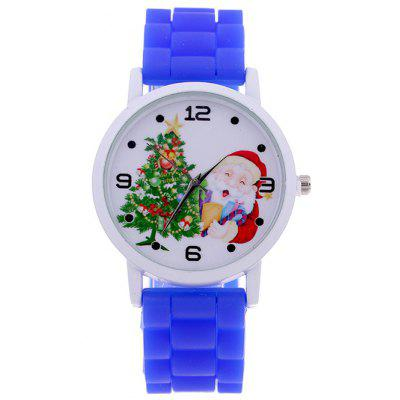 Santa Christmas Tree Star Children Watch