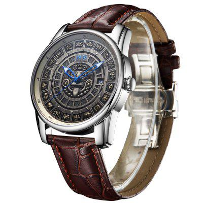 BOS 9018G Fashion Men Automatic Mechanical Watch