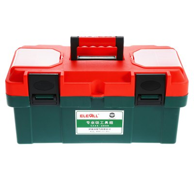 ELECALL 17 inch Household Portable ABS Plastic Toolbox