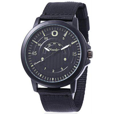 Weesky 6019 Casual Men Multiple Scales Quartz Watch