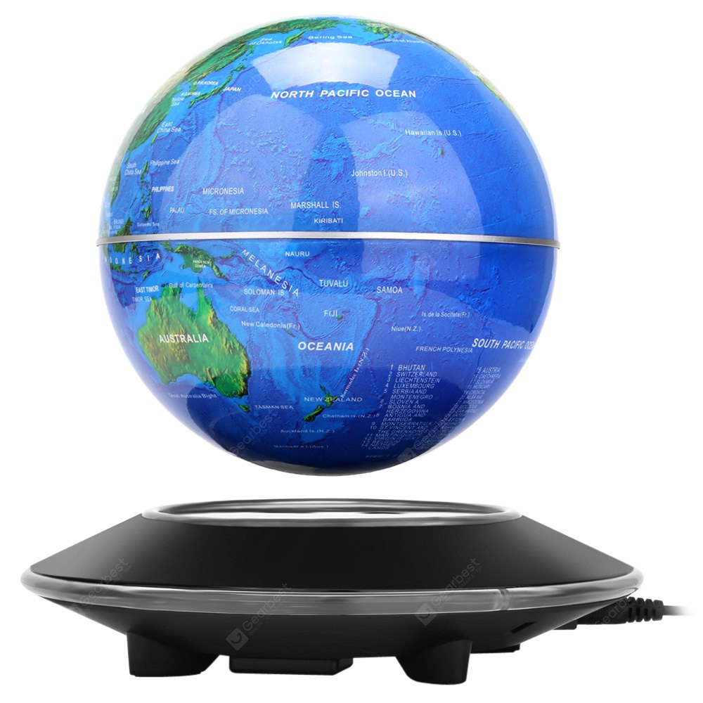 Magnetic levitation floating globe world map 9128 free shipping magnetic levitation floating globe world map gumiabroncs