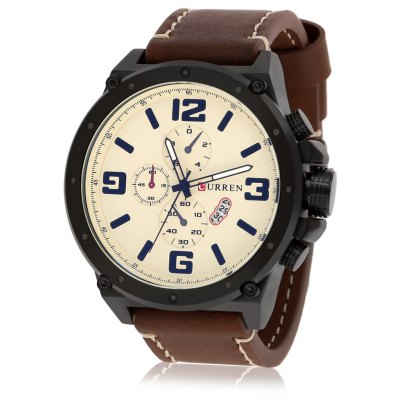 CURREN 8230 Fashion Men Quartz Watch
