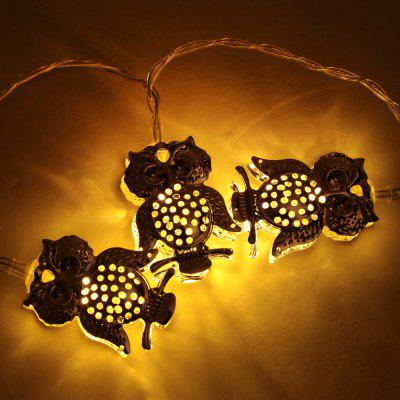BRELONG 3M 20-LED Eule LED String Licht Weihnachten Fairy Lights