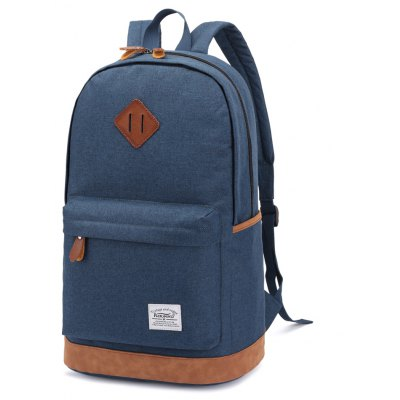 KAUKKO K1001 18L Backpack Water-resistant Retro Leisure Bag