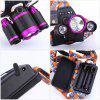 UKing ZQ - X826 LED Headlamp Set - BLACK AND PURPLE