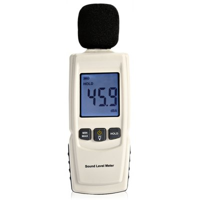 GM1352 30 - 130dB LCD Backlight Digital Sound Level Meter