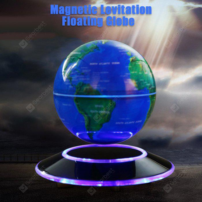 Magnetic levitation floating globe world map 7081 free shipping magnetic levitation floating globe world map gumiabroncs Images