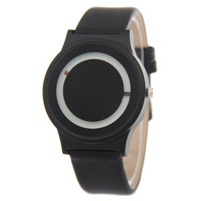PU Leather Sport Watch
