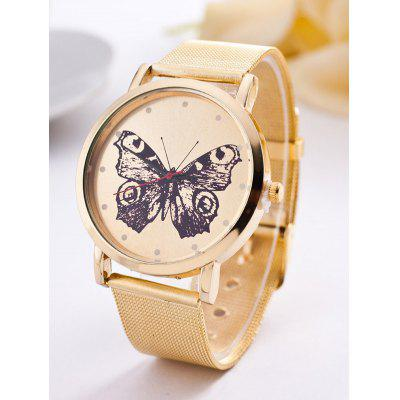 Butterfly Steel Band Quartz Watch
