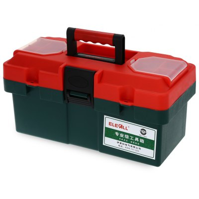 ELECALL 8814 14 inch Household Portable ABS Plastic Toolbox