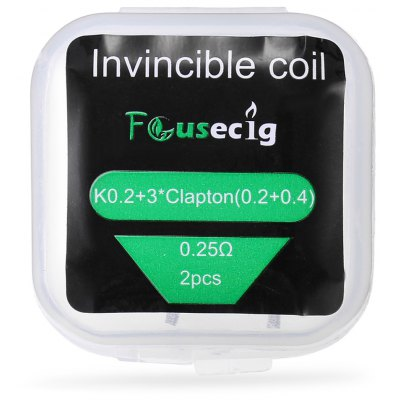 Original Focusecig 0.25 ohm Invincible Coil ( 2pcs / Box )