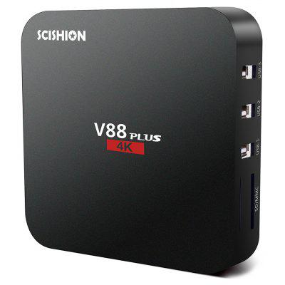 SCISHION V88 oltre a TV Box Android 5.1 del sistema