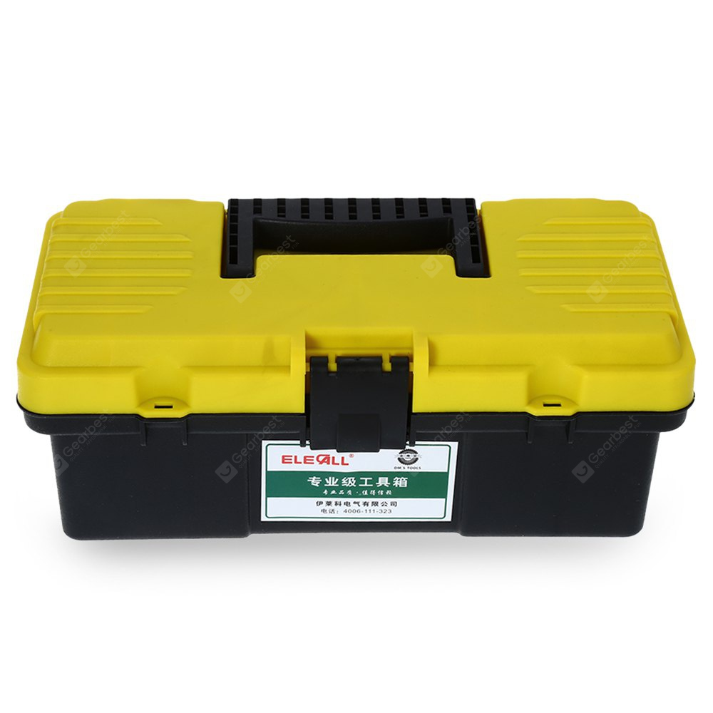 ELECALL 12 Zoll Haushalt Portable ABS Toolbox Lagerung Tool