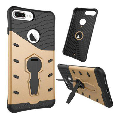 Luanke Silicone Protective Back Cover Case for iPhone 7 Plus