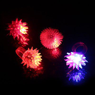 4pcs BRELONG Glowing LED Finger Light for Halloween Christmas