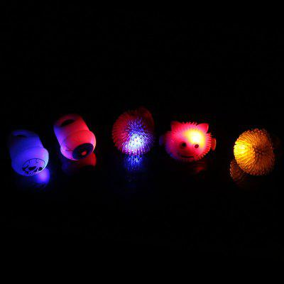 5 x BRELONG Flashing LED Finger Light for Halloween Christmas