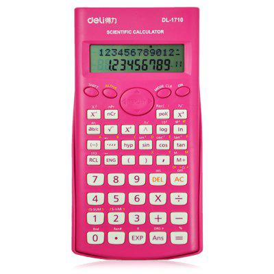 Deli 1710 Scientific Calculator with Textbook Display