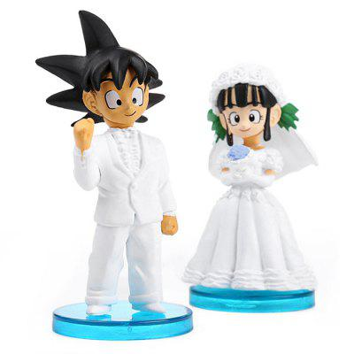 Anime Character Toy Scene Model Home Office Decor