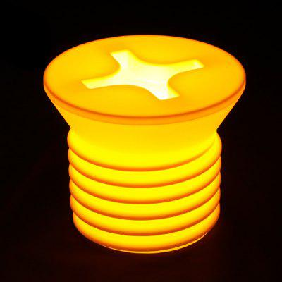 BRELONG Screw-shaped Design Incandescent Night Light