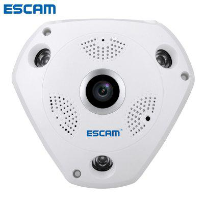ESCAM Shark QP180 960P WiFi Panorama VR IP Camera