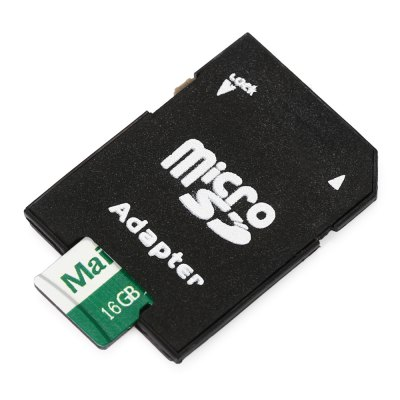 Maikou 2 in 1 16GB Micro SD Card + Adapter