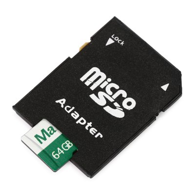 Maikou 2 in 1 64GB Micro SD Card + Adapter