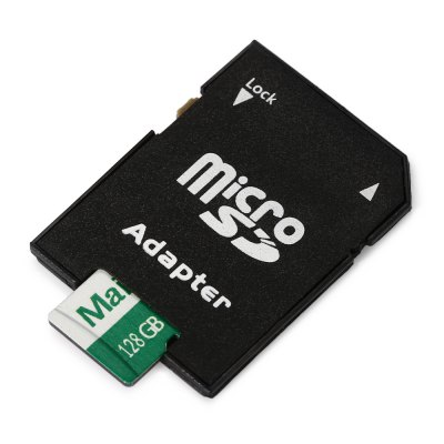 Maikou 2 in 1 128GB Micro SD Card + Adapter