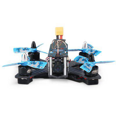 JJRC JJPRO - P130 Battler 130mm RC Racing Quadcopter - RTFBrushless FPV Racer<br>JJRC JJPRO - P130 Battler 130mm RC Racing Quadcopter - RTF<br><br>Battery (mAh): 11.V 850mAh<br>Brand: JJRC<br>Channel: 6-Channels<br>Charging Time.: less than 120 minutes<br>Detailed Control Distance: 1000m<br>Flying Time: about 5mins<br>KV: 2300KV<br>Max. Continuous Current (A): 13A<br>Mode: Mode 2 (Left Hand Throttle)<br>No. of Cells: 2 - 3S LiPo<br>Package Contents: 1 x Airframe, 4 x Motor, 4 x ESC, 1 x Flight Controller, 1 x PDB, 4 x LED Light, 1 x FPV Camera Set, 1 x Battery Set, 8 x Three-blade Propeller, 1 x Propeller Puller, 1 x Transmitter Receiver Set, 1 x<br>Package size (L x W x H): 44.50 x 27.00 x 12.00 cm / 17.52 x 10.63 x 4.72 inches<br>Package weight: 1.2000 kg<br>Product size (L x W x H): 36.50 x 20.00 x 9.00 cm / 14.37 x 7.87 x 3.54 inches<br>Product weight: 1.0000 kg<br>Remote Control: 2.4GHz Wireless Remote Control<br>Transmitter Power: 4 x 1.5V AA battery(not included)<br>Type: Body Frame, Camera Set, ESC, Transmitter Receiver Set, Flight Controller, Motor, Power Distribution Board, Propeller, Propeller Clip<br>Video Resolution: 800TVL ( horizontal resolution )<br>Video Standards: NTSC,PAL