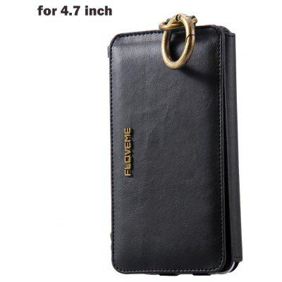 FLOVEME PU Leather Wallet Phone Case for iPhone 6 / 6S / 7