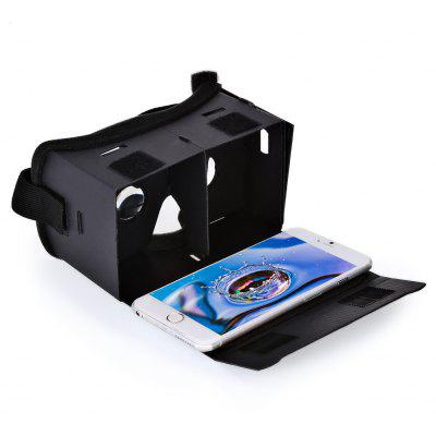 DIY 3D VR Glasses Cardboard 90 Degree FOV