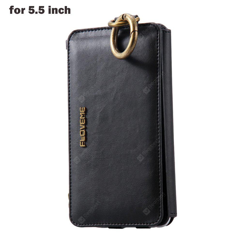 7c22f177836 FLOVEME Wallet Phone Case for iPhone 6 Plus / 6S Plus / 7 Plus ...