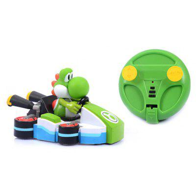 Cartoon Figure Design Wall Climbing Car Infrared RC Toy