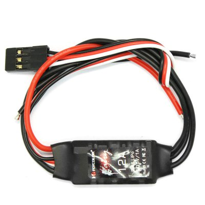 Flycolor Fairy Series 12A 2 - 4S BEC Brushless ESC for DroneESC<br>Flycolor Fairy Series 12A 2 - 4S BEC Brushless ESC for Drone<br><br>Brand: Flycolor<br>Package Contents: 1 x 12A ESC, 1 x English User Manual<br>Package size (L x W x H): 5.00 x 3.00 x 2.00 cm / 1.97 x 1.18 x 0.79 inches<br>Package weight: 0.030 kg<br>Product size (L x W x H): 2.80 x 1.50 x 0.60 cm / 1.1 x 0.59 x 0.24 inches<br>Product weight: 0.008 kg<br>Type: ESC