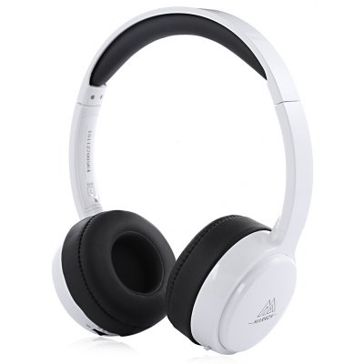 MARROW 303B Auriculares Bluetooth Inalámbricos de Cuero Ultra-suaves