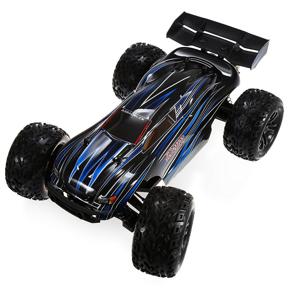JLB Racing 21101 1:10 4WD RC Off-road Truck - RTR - Black with 80A ESC